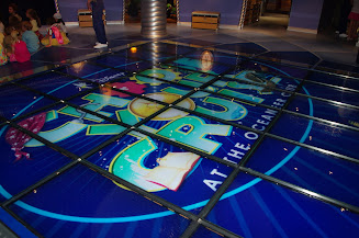 interactive floor in the Club