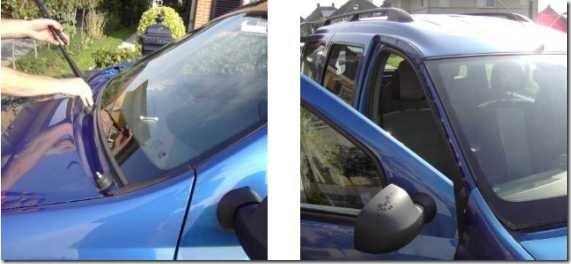 09a Dacia vervangen voorruit
