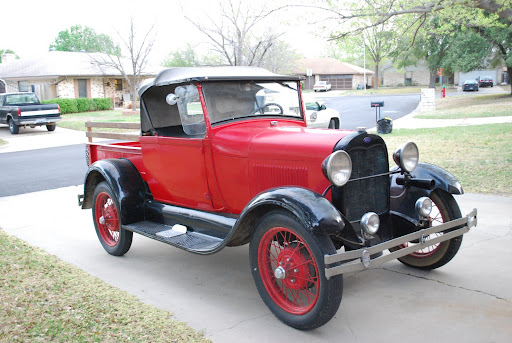 A Ford Roadster Pickup