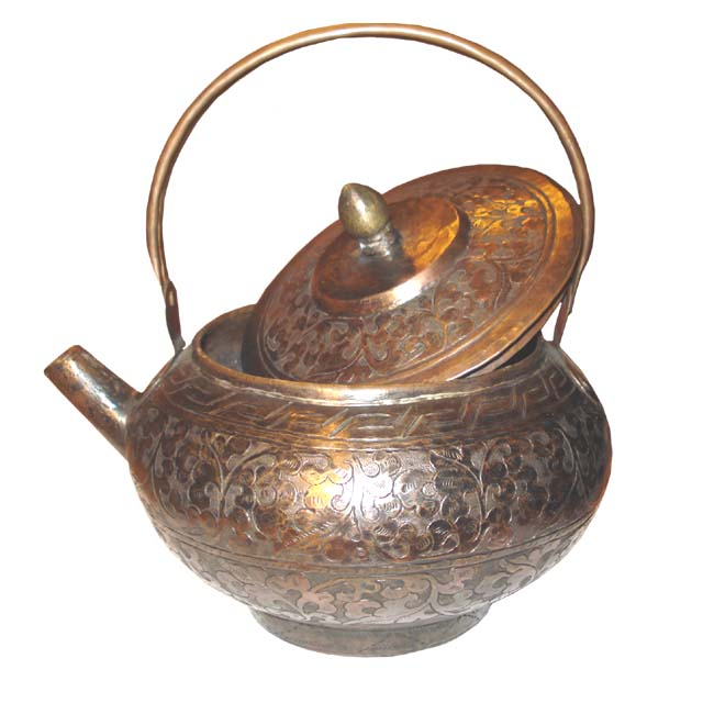 Tea Pot Copper                