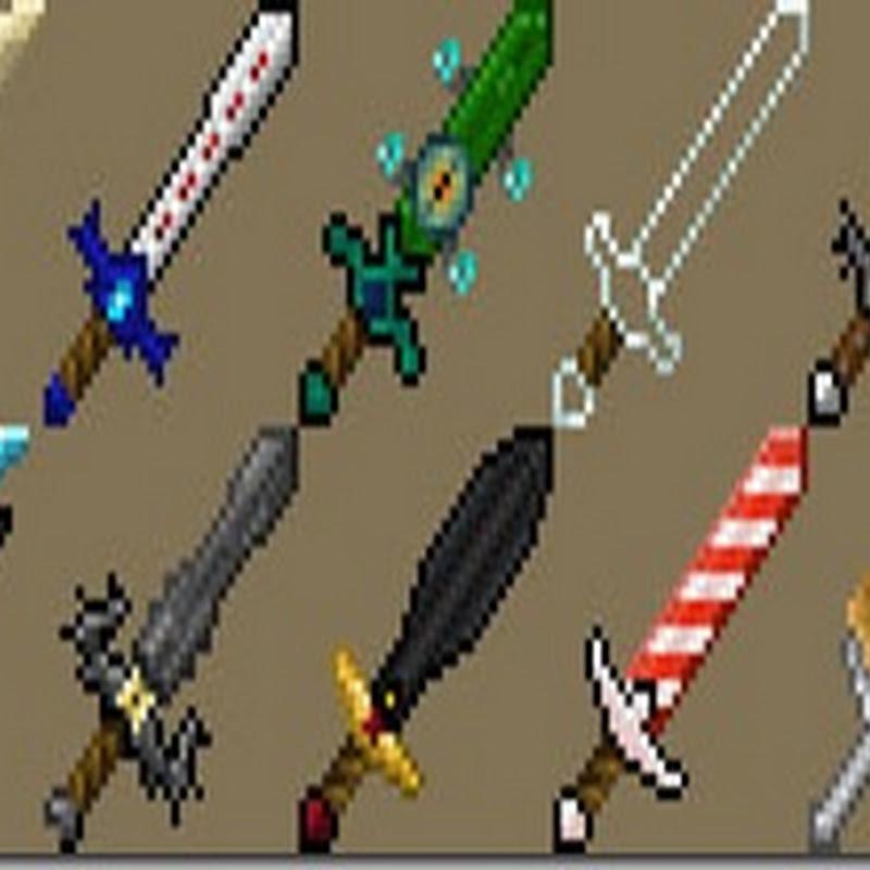 Minecraft 1.5.1 - More Swords Mod (Armi/Spade)