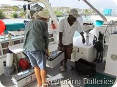 047 Oscar & Alec replacing the Batteries