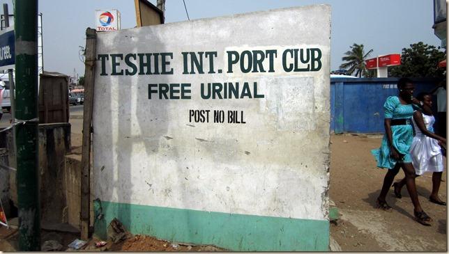 Free Urinal