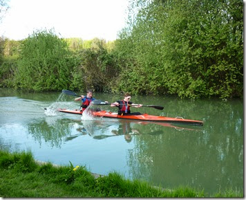 leading civilian canoe