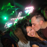 a kiss at deadmau5 in Toronto, Ontario, Canada
