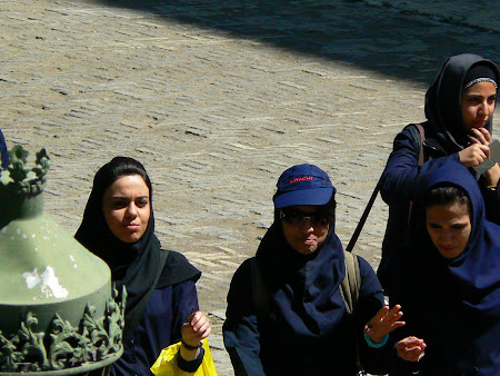 Cool girls in Teheran