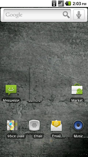 Invisible Launcher Theme