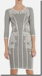 Karen Millen Lace Jaquard Dress
