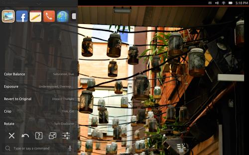 HUD 2.0 su Ubuntu Tablet
