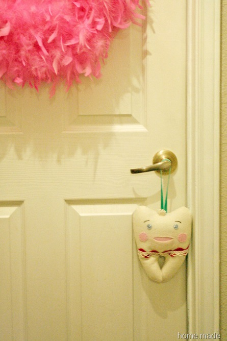 Tooth Fairy Door Pillow