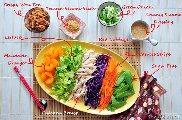 Chinese Chicken Salad Ingredients