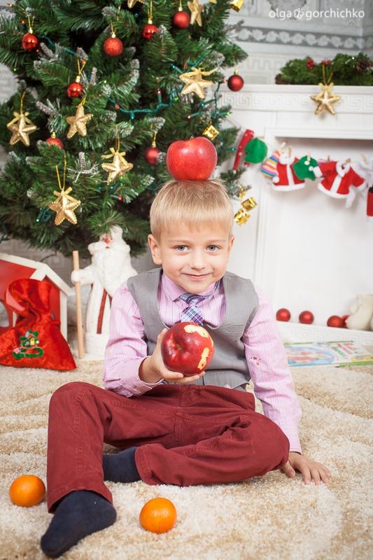 Детский новогодний фотопроект Рождественские мечты. 6. Федя и Варя-8525