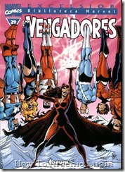 P00029 - Biblioteca Marvel - Avengers #29