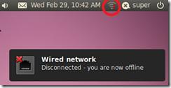 VMware-Ubuntu Disconnected