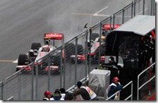L'incidente tra Button e Hamilton nel gran premio del Canada 2011