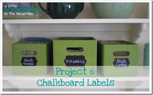 Chalkboard Labels Banner WM