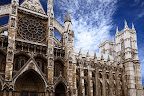 Westminster Abbey is a large Gothic church in London, United Kingdom. This is the place where British royal weddings, coronation and burial site are taken place.
