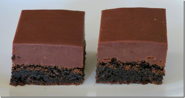 Fudge Topped Brownies 4