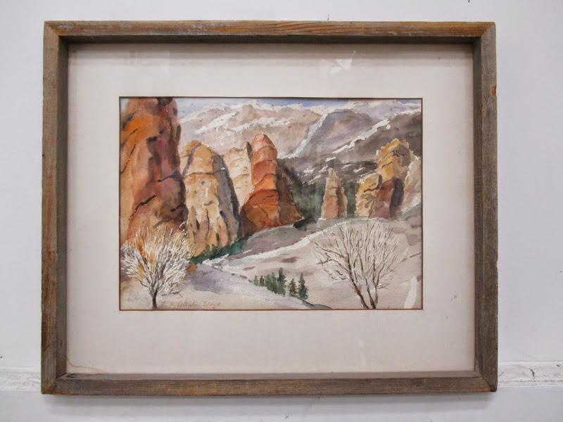R. McAllister Lloyd Watercolor #1