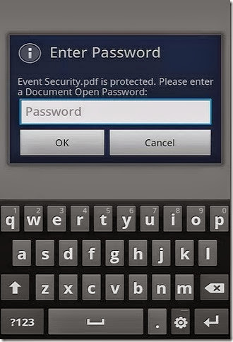 password protection adobe reader