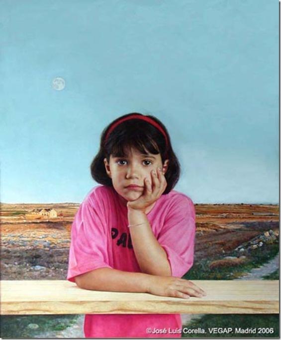 La luna y la princesa-Jose-Luis-Corella-ENKAUSTIKOS
