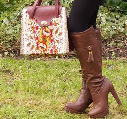 Eles clothing review seventies tunic and knee boots