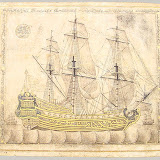 alligraphic Galleon, Ottoman period (ca. 1280–1922), a.h. 1180/1766–67 a.d. Calligrapher: Abdu'l Qadir Hisari Turkey Ink and gold on paper