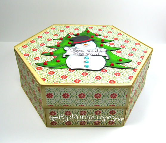 Oakpond Creations - Say what snowman - Ruthie Lopez - Gift Box 4