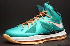 nike lebron 10 gr miami dolphins 4 02 Gallery: Nike LeBron X Miami Setting or Dolphins if you Like