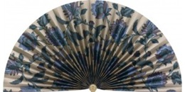 neat pleats jacobean decorative fireplace fan