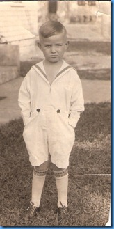 Charles Robert Burgess 4 years old