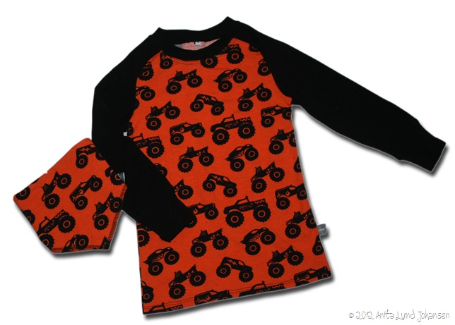 Monstertruck genser 104