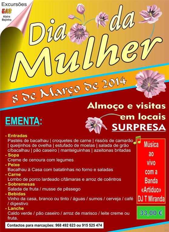 Dia da Mulher (Progr. EAB) - 08.03.14