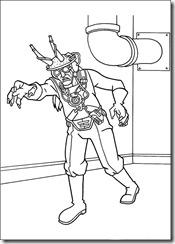 desenhos para colorir do Ben 10 doutor animal
