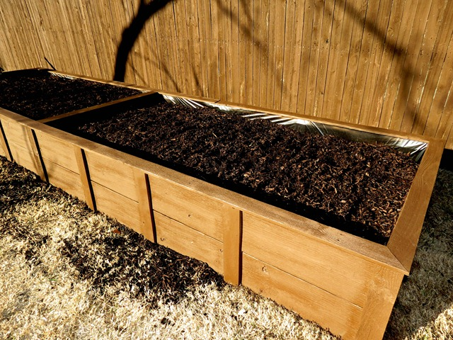 building raised garden box style with cents13