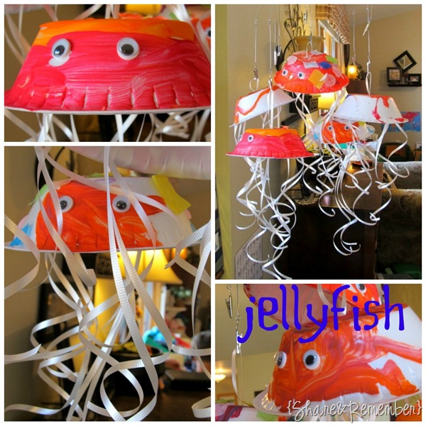 Jellyfish Preschool Craft