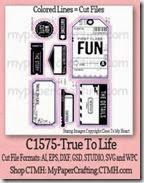 CTMH-C1575-True to life-200