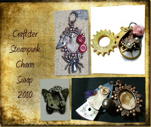 Steampunk charm swap