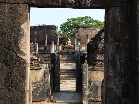 Obiective turistice Sri Lanka: orasul regal Pollonaruwa