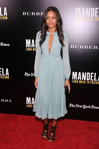 Naomie Harris Mandela Long Walk Freedom Screening