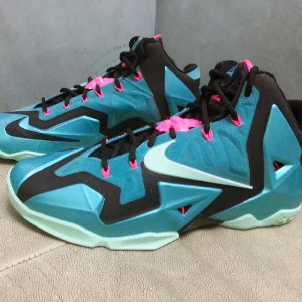Nike LeBron XI Gets a South Beach Treatment