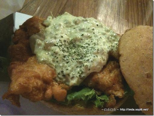 1885-墨西哥塔塔酥炸雞肉漢堡2