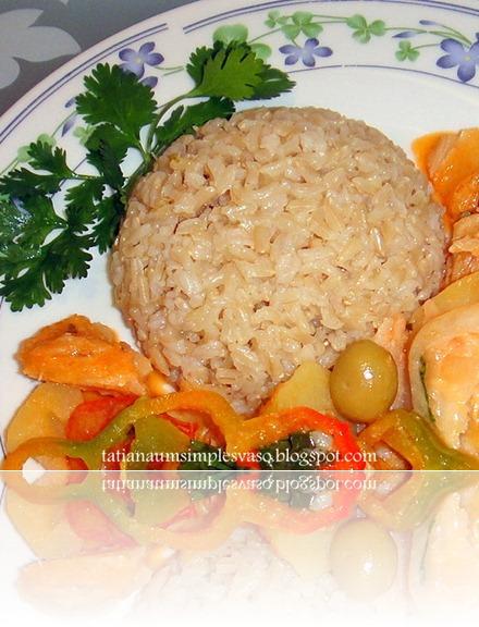 Montinho de arroz