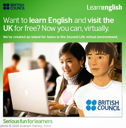 'Learn English Second Life for Teens' photo (c) 2008, Graham Stanley - license: https://creativecommons.org/licenses/by/2.0/
