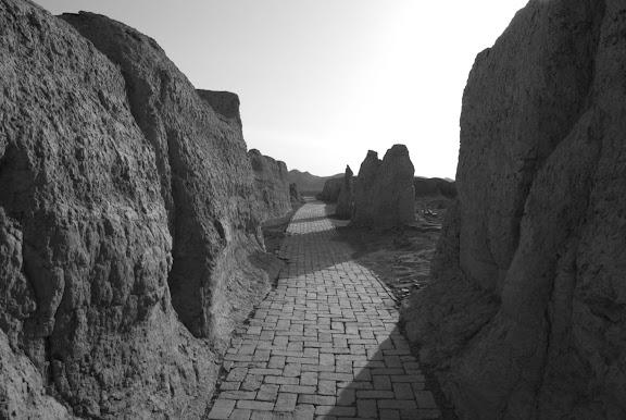 Turfan - Ruines de Jiaohe 9