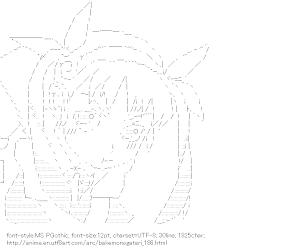 [AA]Hachikuji Mayoi (Bakemonogatari)