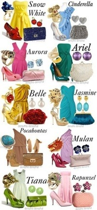 disney princesses outfit