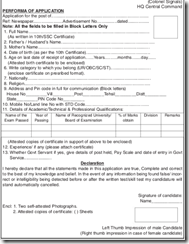 Chief Signal Officer Central Command  Application Form-www.IndGovtJobs.in