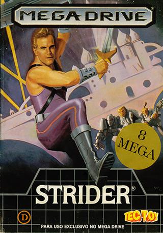 Strider para Mega-Drive (Tec Toy)