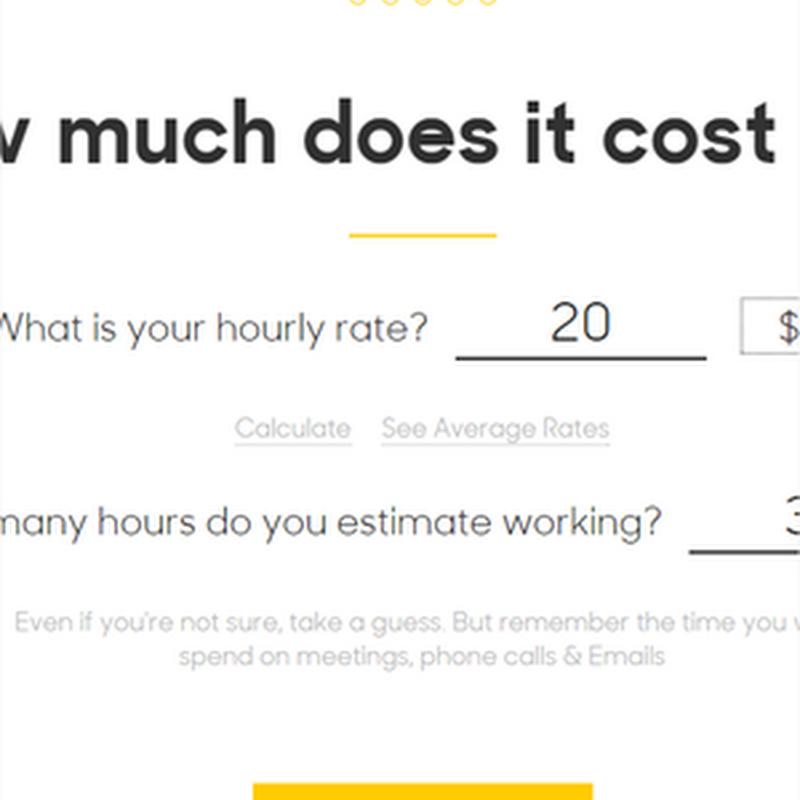Este sitio te dice cuánto deberías cobrar por tu siguiente proyecto